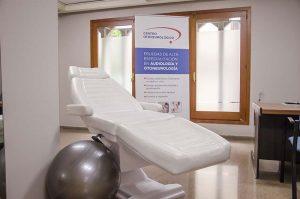 consulta para pacientes de rehabilitación