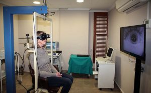 análisis ocular centro otoneurológico