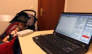 pruebas en niños de potenciales evocados auditivos