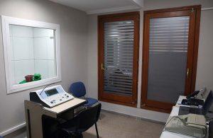 sala control audiometría