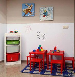 espacio para niños centro otoneurológico